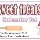 This yummy calendar set will have your students screaming for ice cream! This set contains numbers 1-31, days of the week cards, and 12 monthly hea...