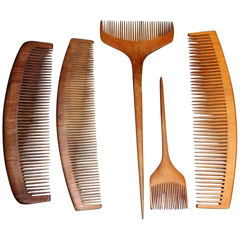 WOODEN MDF COMB SHAPE BRUSH HAIR COMBING CRAFT DECORATION