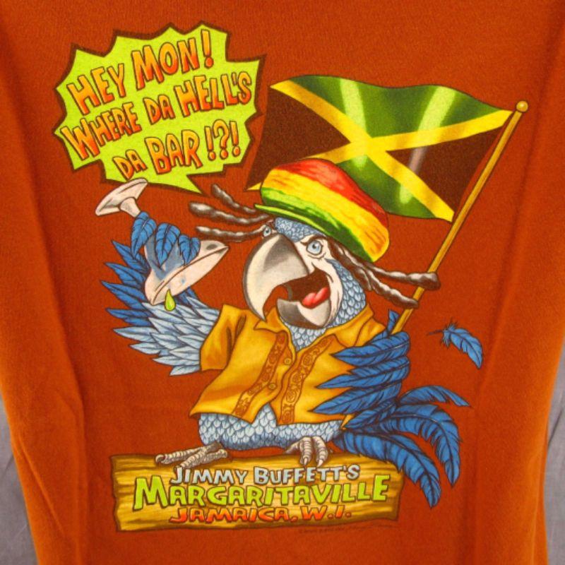 Margaritaville T-Shirt M Negril Jamaica Parrot Medium