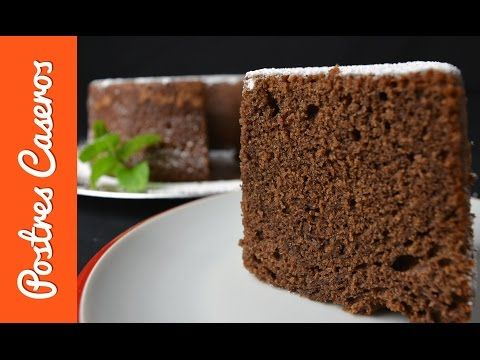 Como Hacer Bizcocho De Yogur Y Chocolate Bizcocho De Chocolate Bizcocho Postres De Chocolate