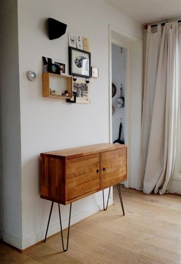 This Vintagestyle Midcentury Credenza Was Modelled In The Clean Gorgeous Beechwood Furniture Exterior