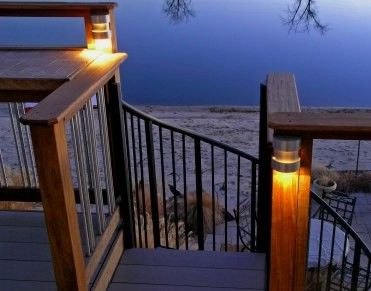 deck lighting the deck light store easy to install low voltage