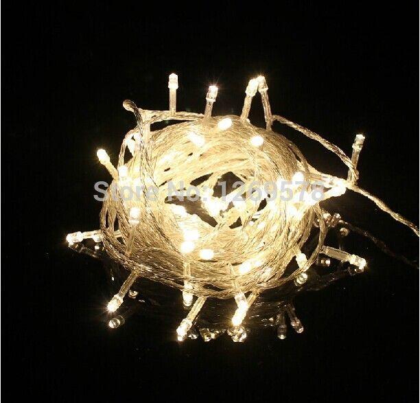 Pas cher étanche 10 M 100 guirlande LED Lighting mariage guirlande