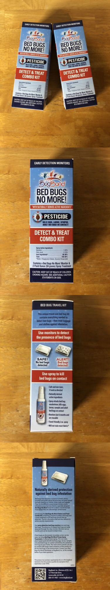 Insect Repellent Sprays 181038 Pack Of 2 Bugband Bed Bugs