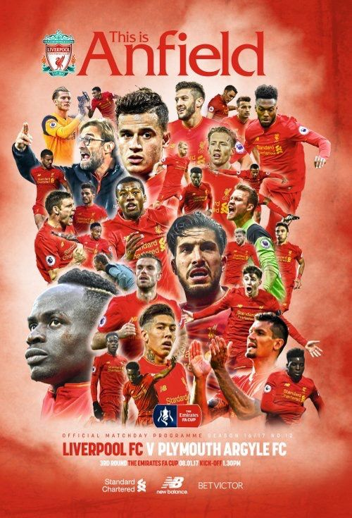 Official Match Day programme cover #LFC! | リバプールfc, リバプール