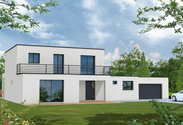 maison contemporaine sans toit maison disign Pinterest