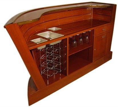 Barina Craft Mystique Nautical Boat Bar | This Old Shack Parts U0026 Pieces |  Pinterest | Bar, House Bar And Basements
