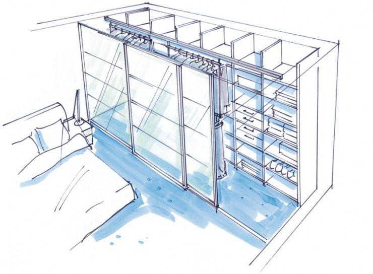 dressglider begehbarer kleiderschrank pinterest kleiderschrank schrank und begehbarer. Black Bedroom Furniture Sets. Home Design Ideas