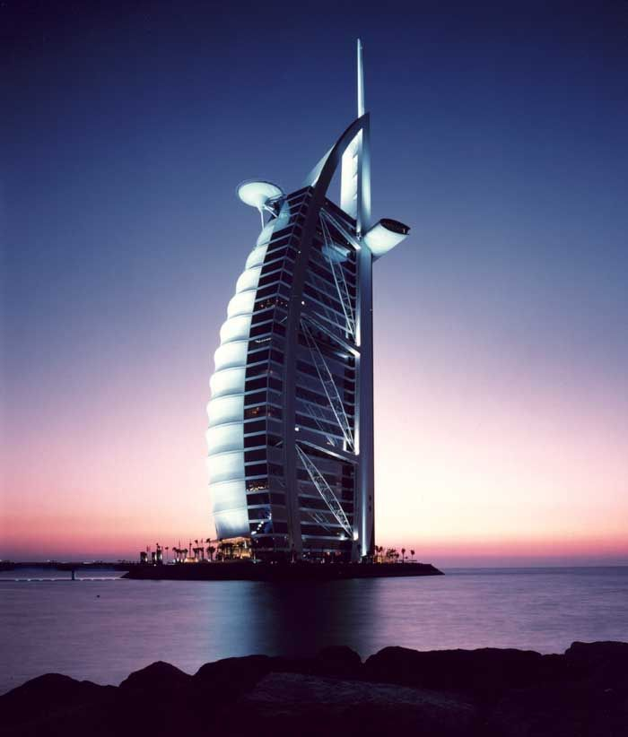 famous buildings of dubai new images of 2012 burj al arab