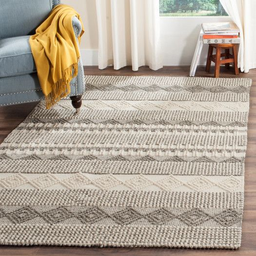 Laurel Foundry Modern Farmhouse Billie Hand Tufted Gray/Ivory Area Rug U0026  Reviews |