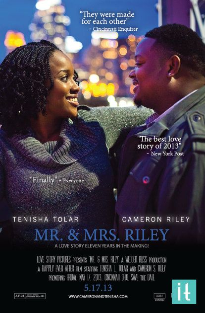 wedding movie poster save the date