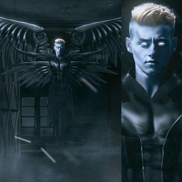 A closer look at Ben Hardy #archangel #XMenApocalypse ...