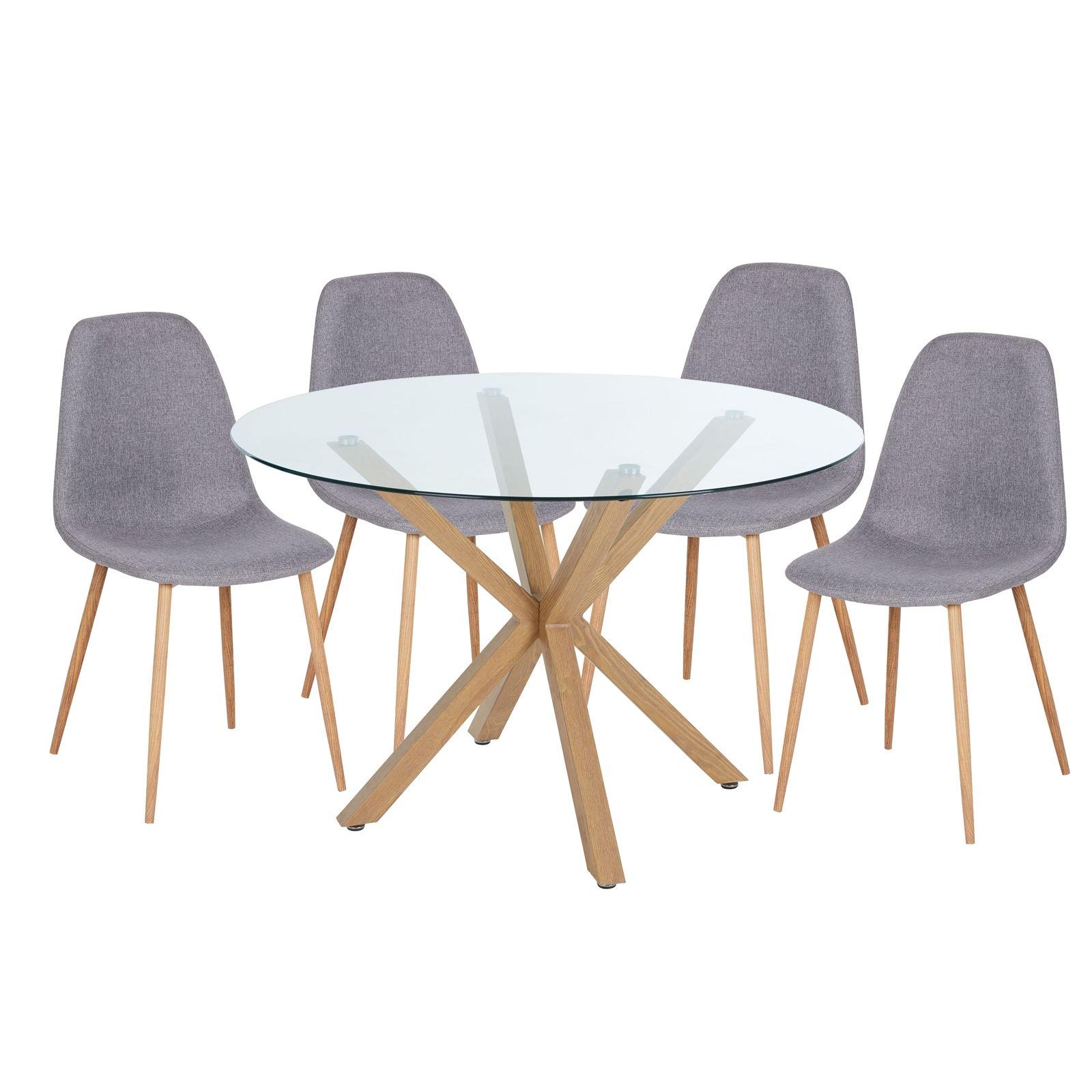 Ludlow 11 Seater Dining Set - Grey  Homebase in 11  Dining set