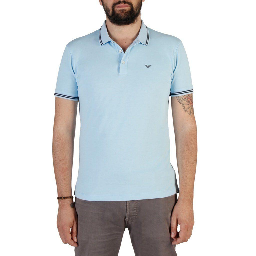 72160b8e Emporio Armani Polo Shirt - Light Blue   Products   Armani polo ...
