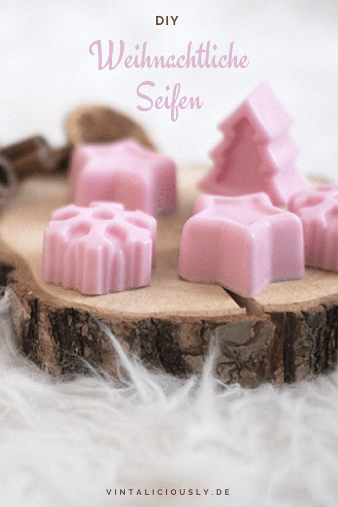Geschenkidee: DIY Seife mit Weihnachtsduft selber machen