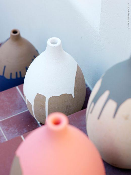 drip pottery
