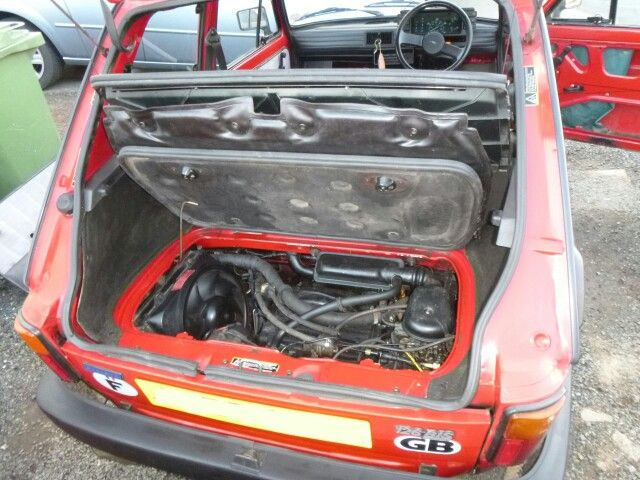 700cc Water Cooled Power Fiat 126 With Images Fiat 126 Fiat