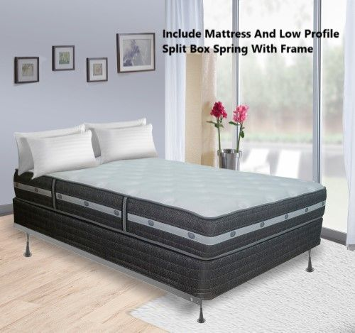 Reyteam 11 Inch Fully Assembled Orthopedic Soft Mattress And 4 Inch