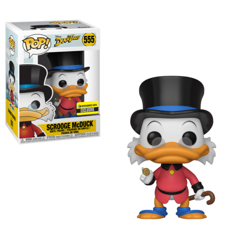 Coming Soon Entertainment Earth Exclusive Scrooge Mcduck Pop Funko Scrooge Mcduck Vinyl Figures Scrooge