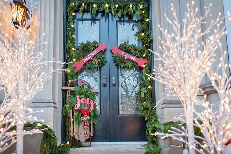 creative ways to decorate your holiday front porch front porches