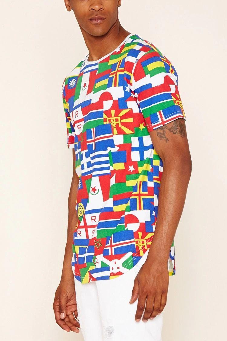 261523cb1076 Reason International Flag Tee #forever21men   forever 21   men ...