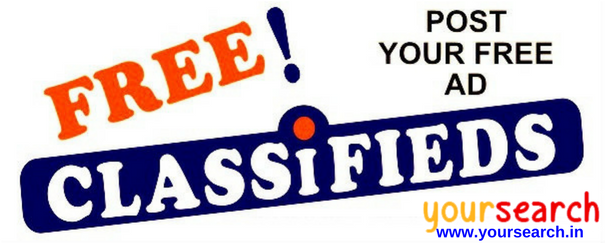 Post free classified ads online in India and get noticed by your