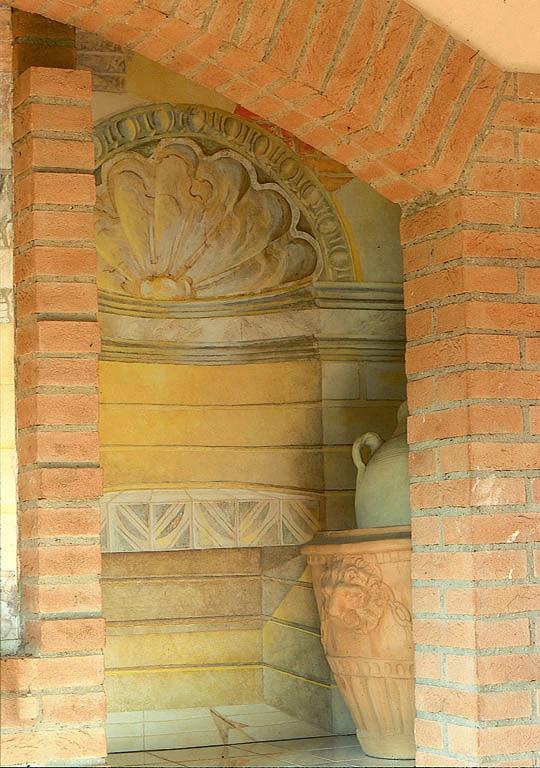 Architetto e Decoratore Cosimo Pedicini | Composizione per camino