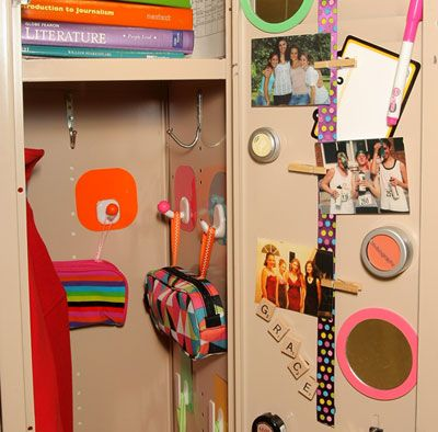 get schooled upgrade your locker from average to a - How To Decorate Your Locker