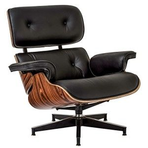 Best Poly And Bark Eames Style Lounge Chair And Ottoman In 400 x 300
