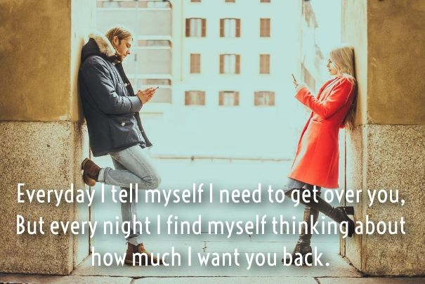 I Want U Back Quotes And Sayings Get Her Back Love Quotes Done Trying