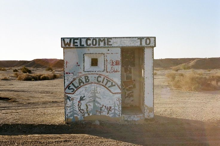 Slab City Where Alex Supertramp Met Jan Burres With Whom He Became Very Good Friends Rutas