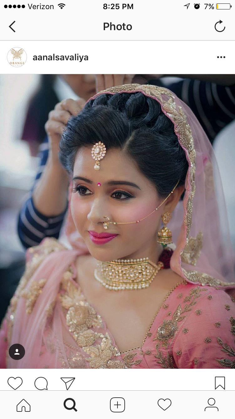 pin by nc on bride in 2019 | indian wedding hairstyles, hair