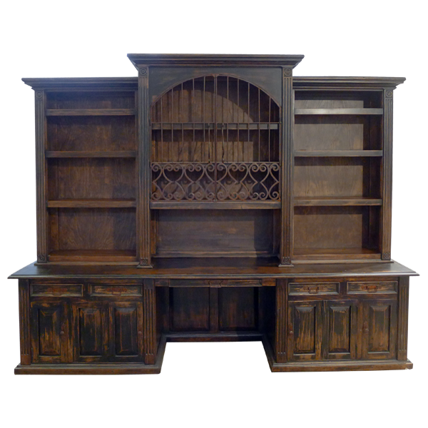 Los Molinos Bookcase | Western Bookcases | Western Living_room | Western  Furniture