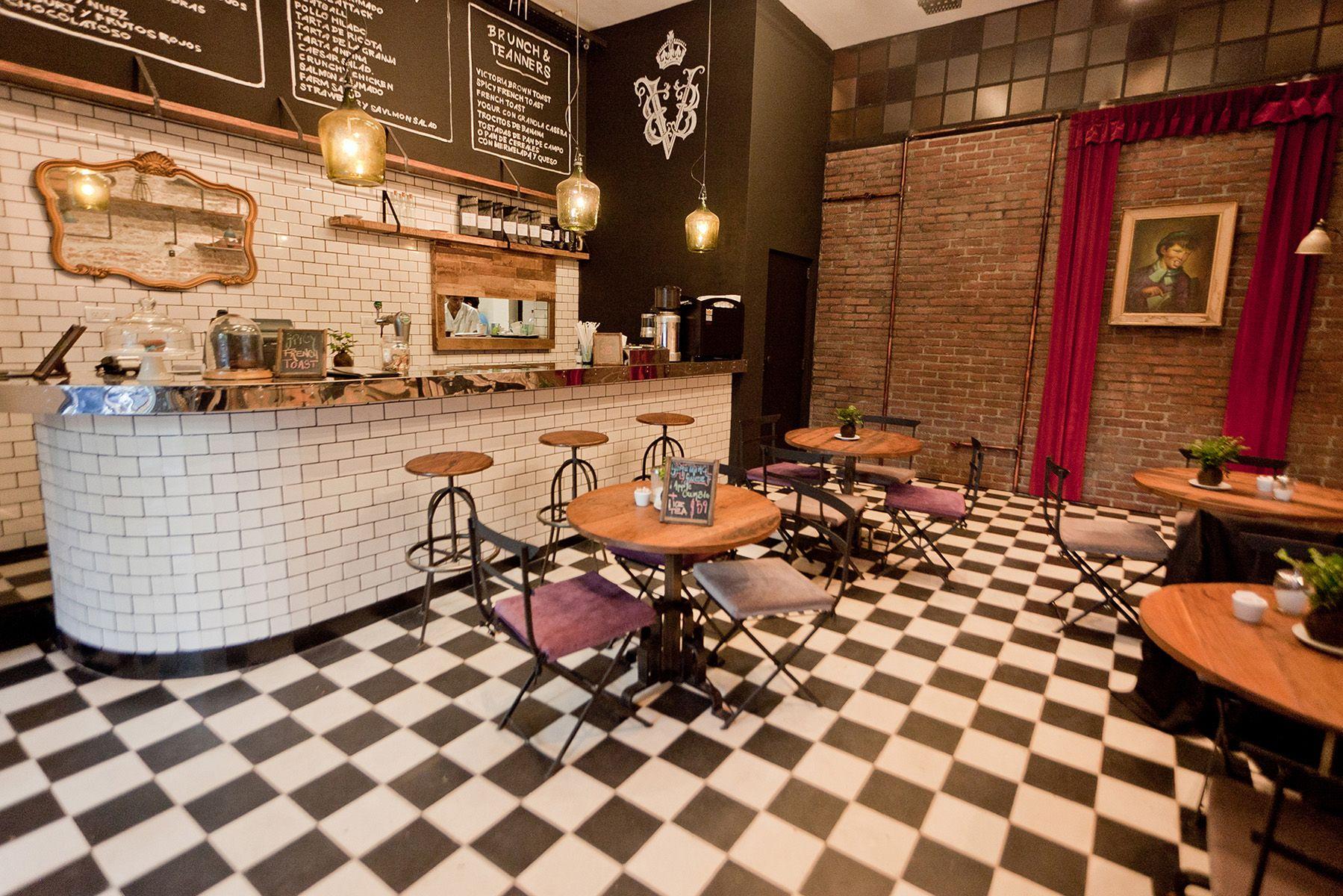 Victoria Brown Coffe Shop & Bar & Restaurant By Hitzig