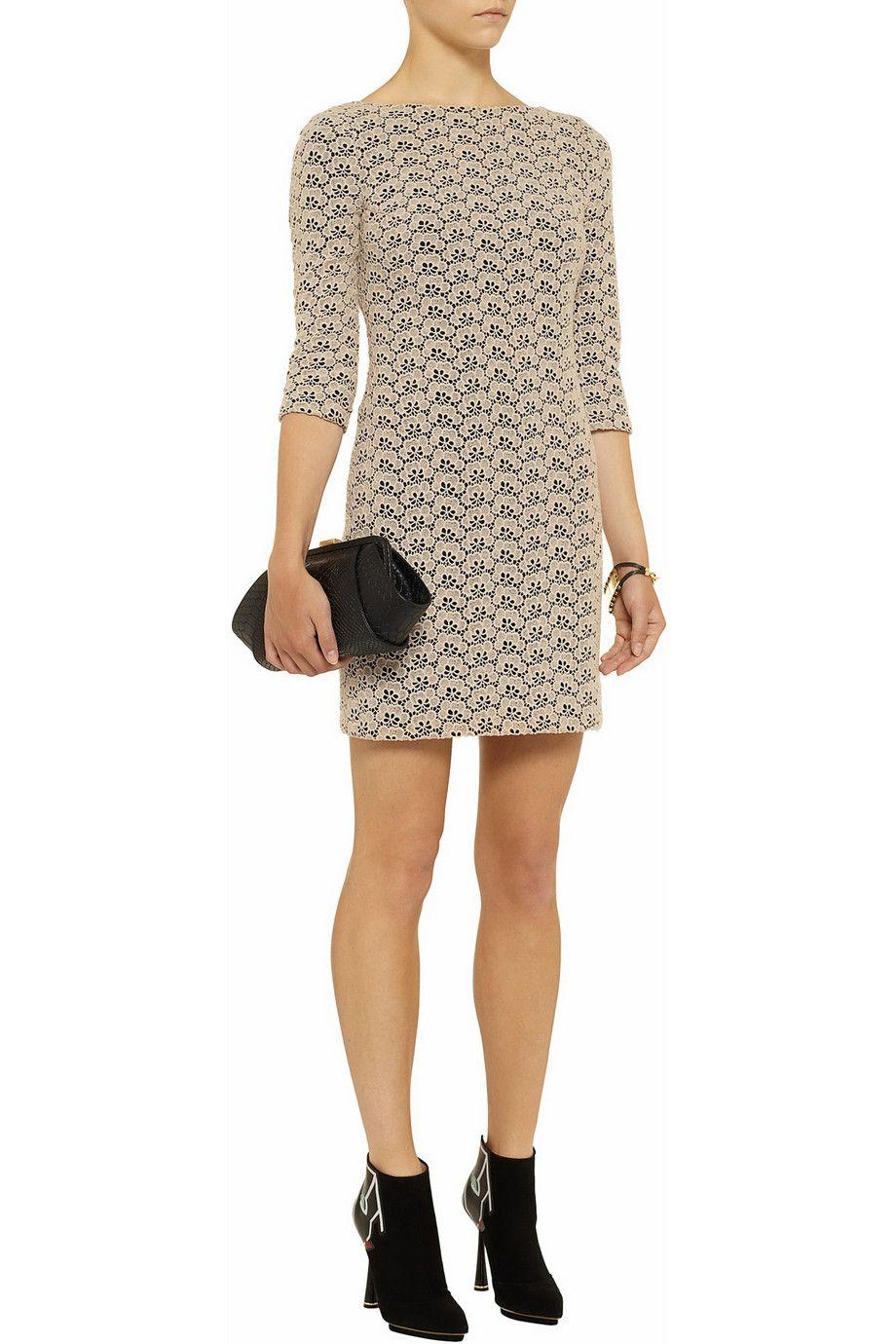 Diane von Furstenberg Sarita lace dress - 50% Off Now at THE OUTNET ...