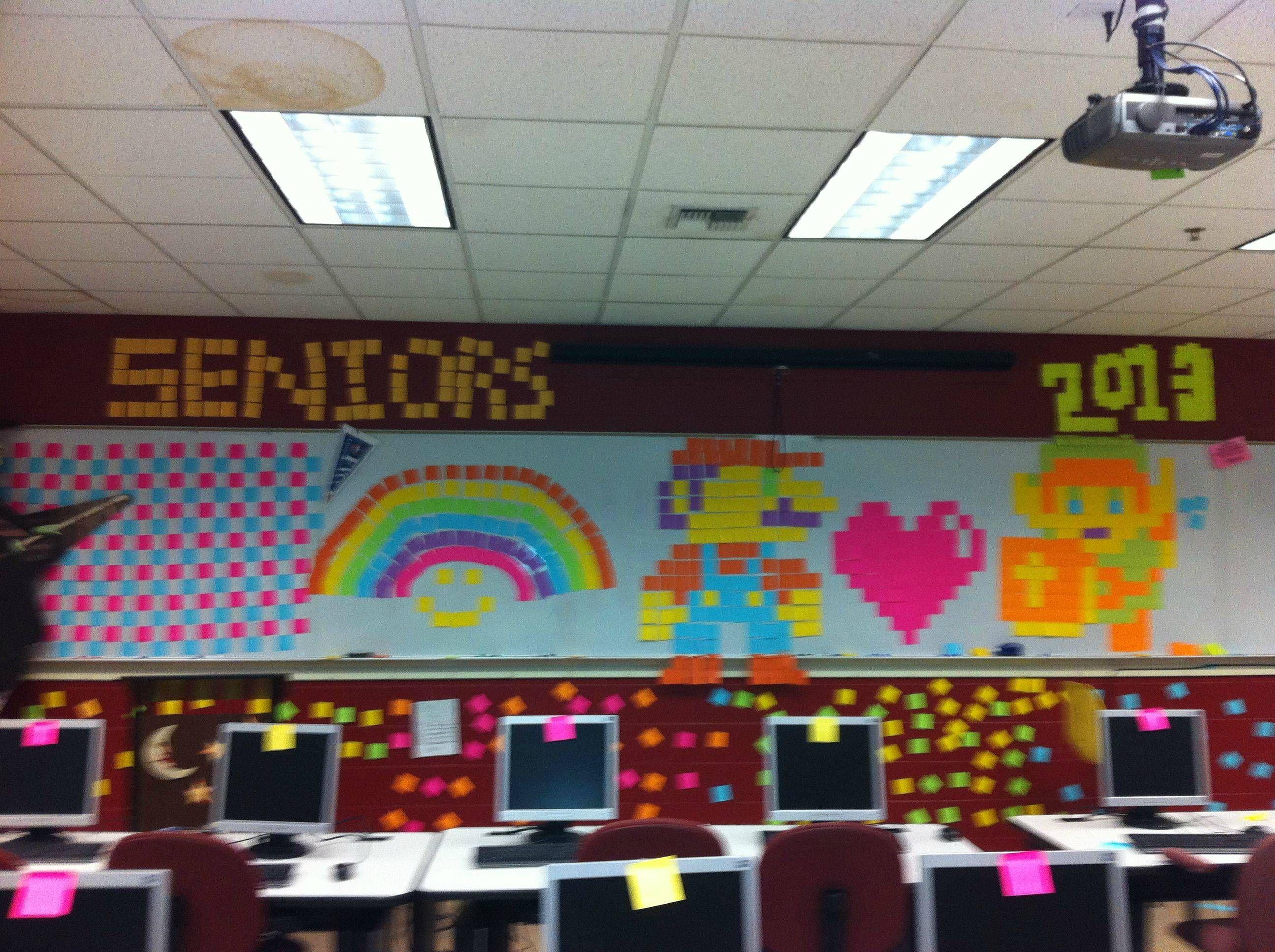Classroom Prank Ideas ~ Funny senior pranks pinterest