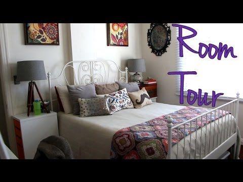 Filming Setup Room Tour Leirvik Bed Bed Bed Frame