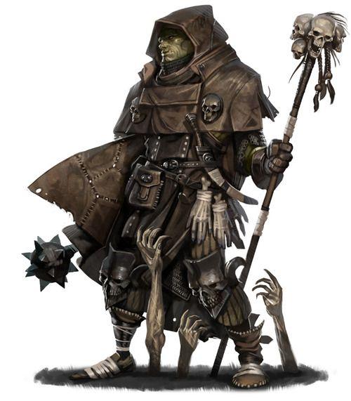 Female Half Orc Monk - Google Search