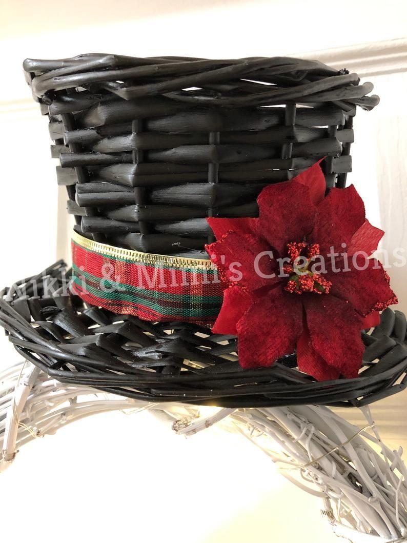 Photo of LED Lit Snowman Christmas/Holiday Grapevine Wreath – Christmas Wreath – Holiday Wreath – Winter Wreath – Snowman Wreath – Christmas Gift