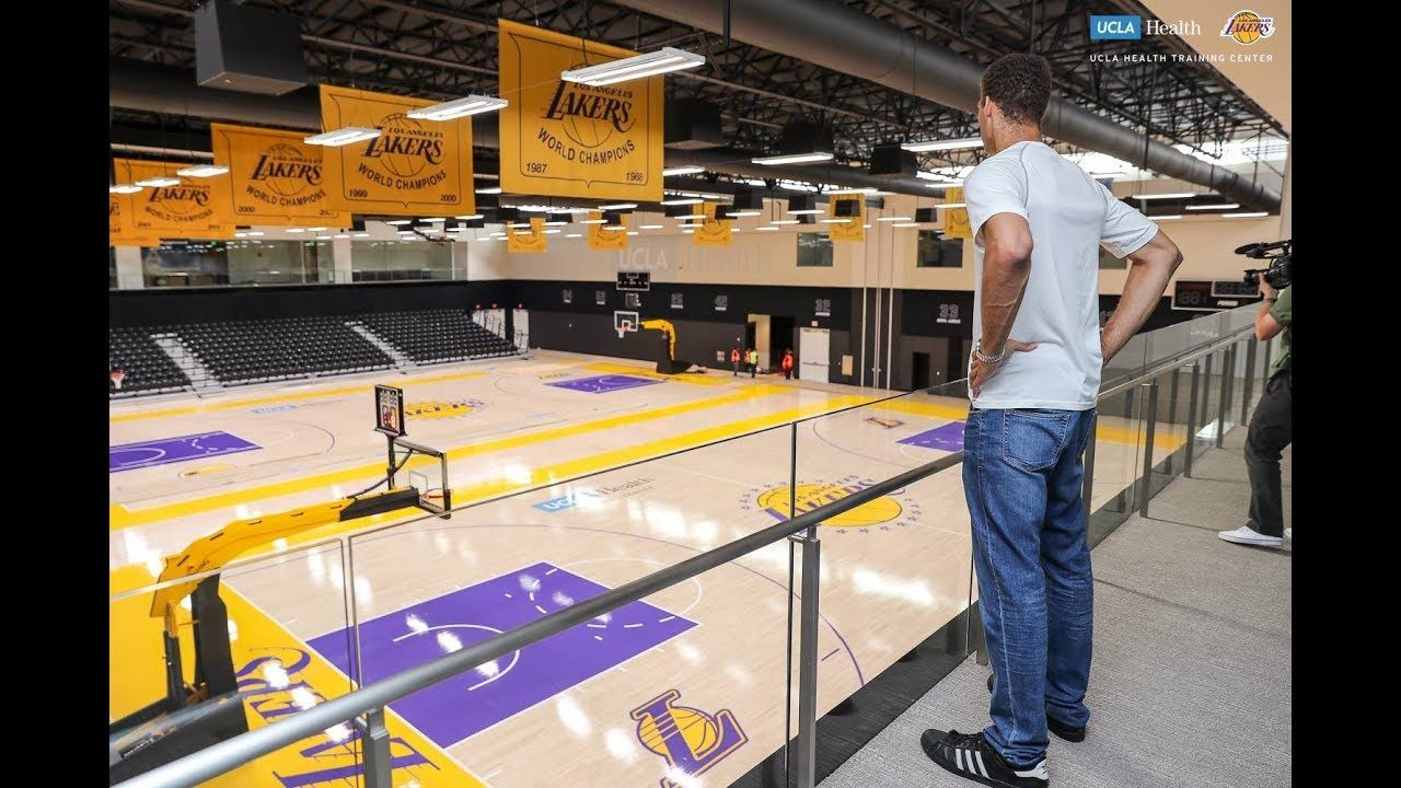 Lakers react to new practice facility ucla health