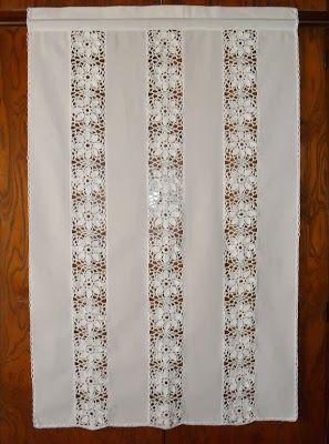 Decora con visillos decoracion cortinas cortinas visillos y cortinas para puertas Visillos para puertas