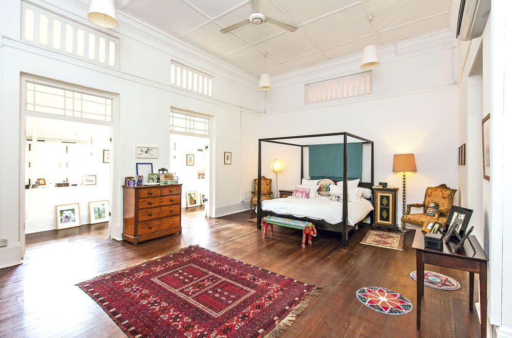 Reader S Home Tour This Huge Black And White House In Singapore S Historic Swiss Cottage Estate Black And White Furniture Home House