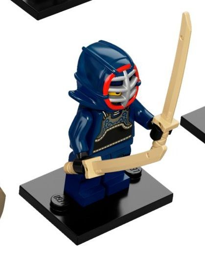 12 Kendo Fighter Baukästen & Konstruktionsspielzeug Lego Minifigure Series 15-71011 LEGO Baukästen & Sets
