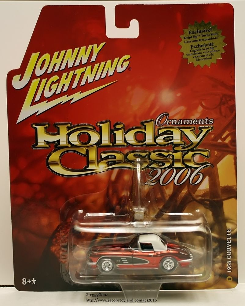 JOHNNY LIGHTNING HOLIDAY CLASSIC 2006 SERIES - 1958 CORVETTE #JohnnyLightning #Chevrolet