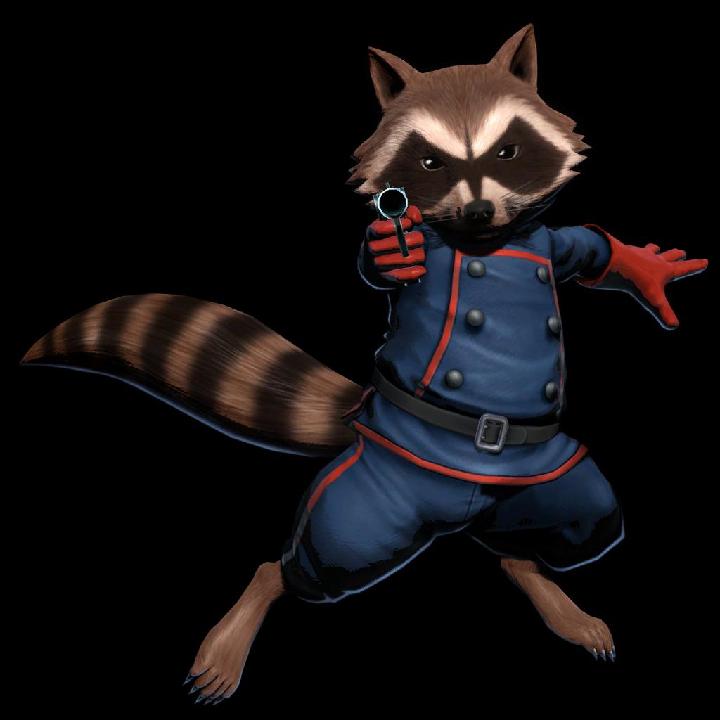 Rocketraccoon Ultimate Mvc3 Full Victory Png 1024 1024 Rocket Raccoon Marvel Raccoon