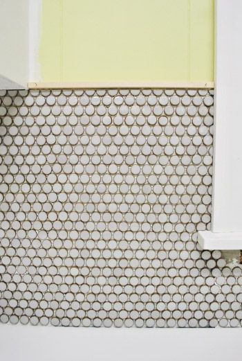 Decorative Tile Trim Pieces How To Install Penny Tile And Lots Of It  Penny Tile House And