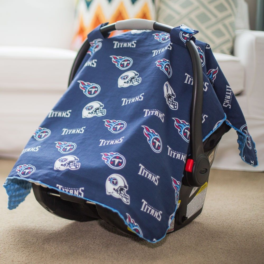 hot sale online d1633 20387 Tennessee Titans Baby Gear: Infant Carseat Canopy Cover, NFL ...