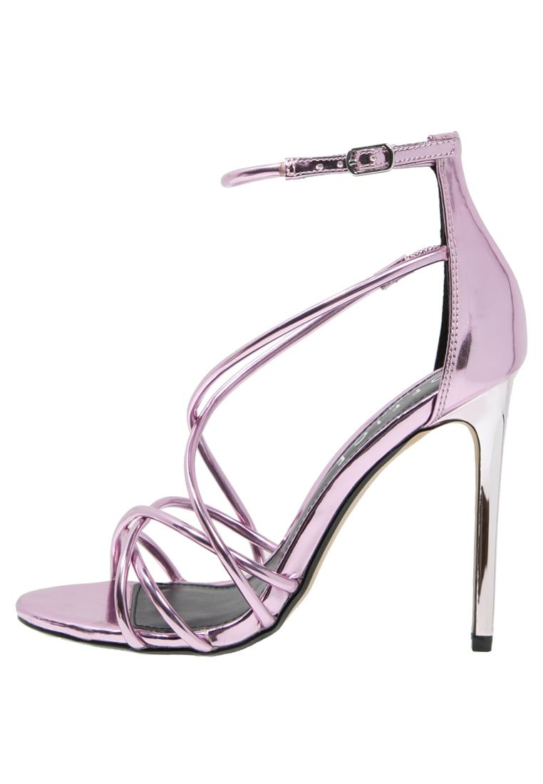 4888accdf294 Office SPINDLE - High heeled sandals - pink mirror for with free delivery  at Zalando