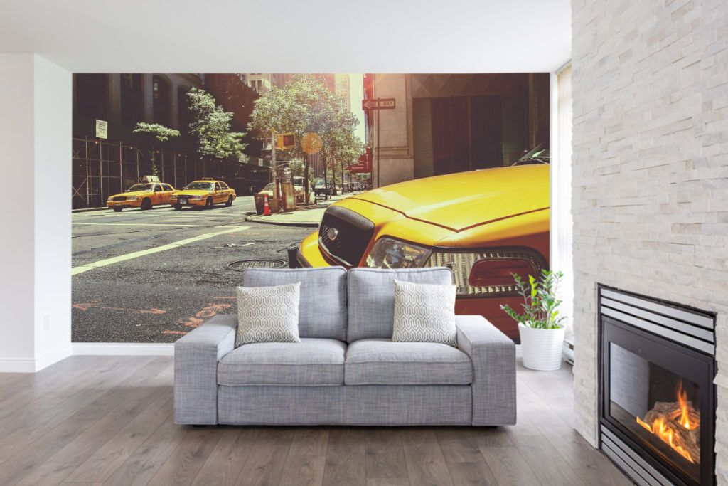 The Big Apple New York Wall Murals Wallbeard With Images
