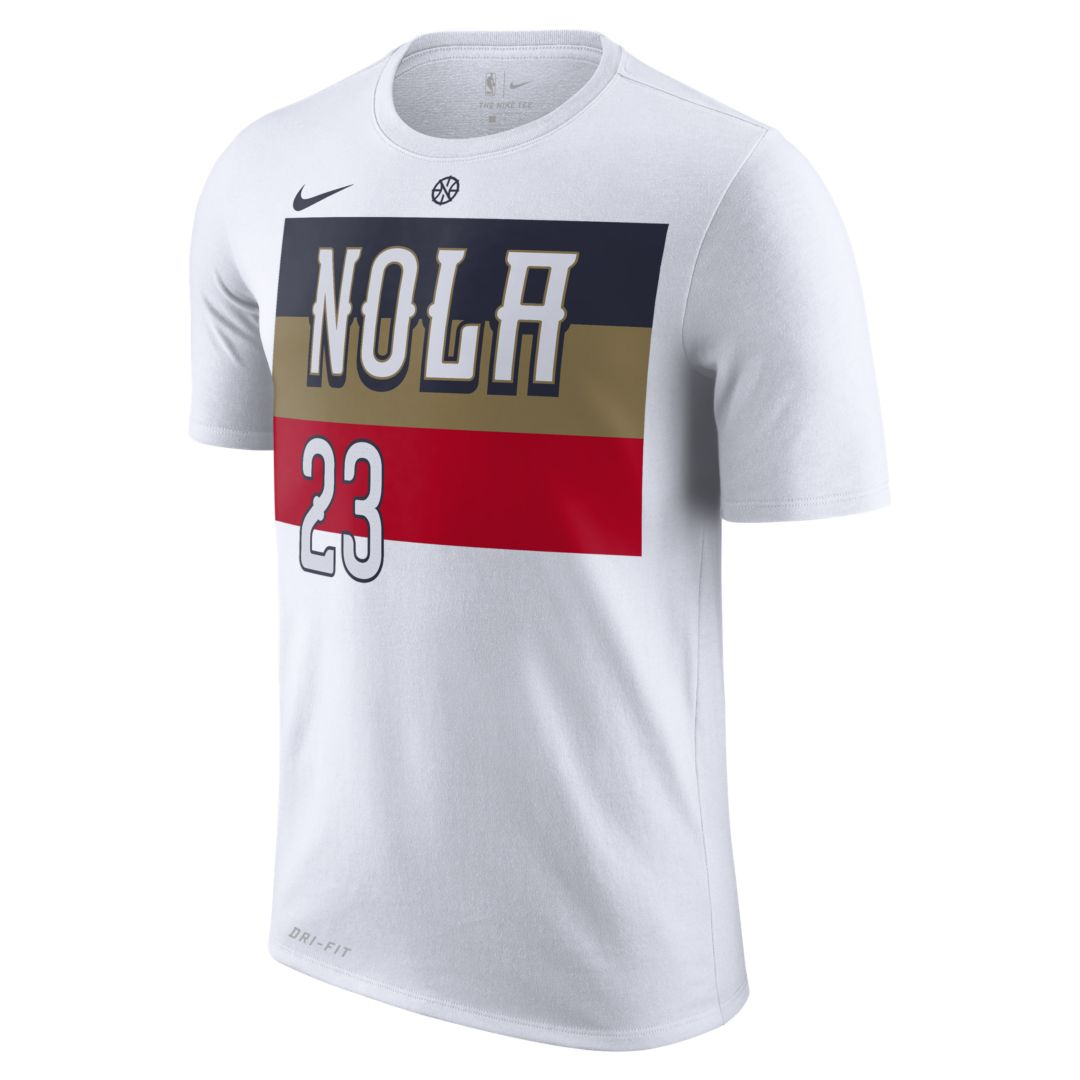 1fce620dad5e Anthony Davis (nba) New Orleans Pelicans City Edition Nike Dri-FIT Men s  NBA T-Shirt Size XL (White)